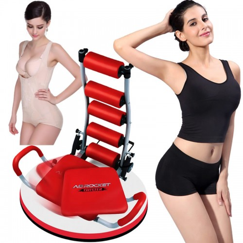Ab Rocket Twister Abdominal Home Fitness Gym Exercise Pilates Workout Machine