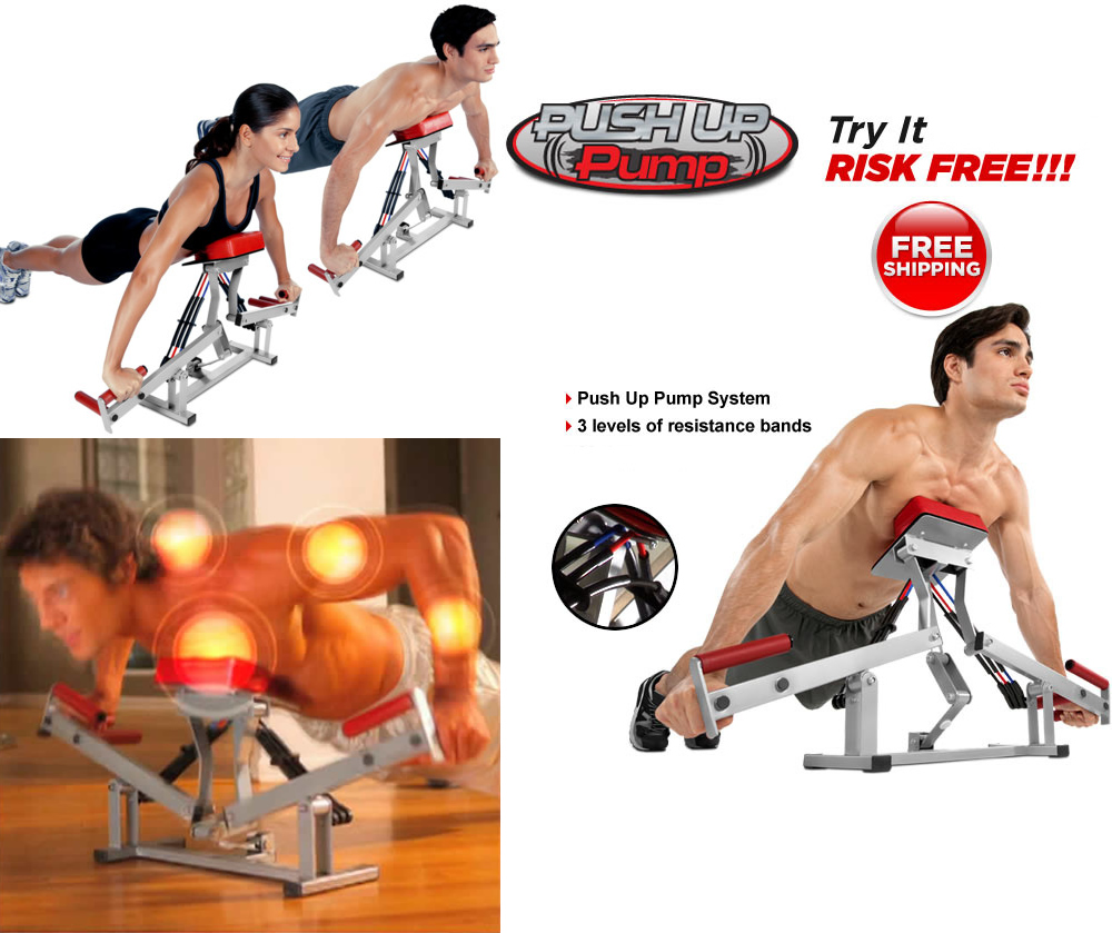 Fitness Pump Home Gym Fitness Equipment of Push up System ...